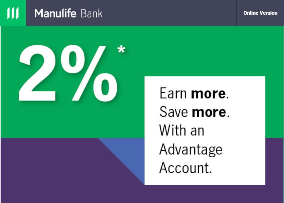 Manulife Advantage Promo